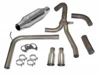Chevrolet Camaro (4th Gen) Exhaust - Chevrolet Camaro (4th Gen) Exhaust Systems And Components - SLP Performance - SLP Performance Exhaust System Loud Mouth II 1998-02 Camaro/Firebird