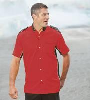 Infineon Crew Shirt - Red / Black