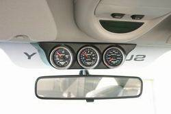 Gauges and Data Acquisition - Gauge Mounting Solutions - Gauge Pods - Overhead Console Mount