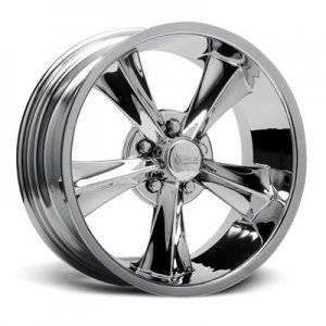 Wheels - Street / Strip - Rocket Racing Wheels - Rocket Racing Booster Chrome Wheels