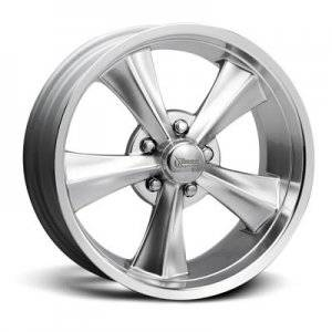 Wheels - Street / Strip - Rocket Racing Wheels - Rocket Racing Booster Hyper Shot Center Machined Outer Wheels