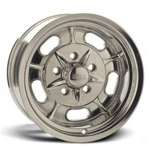Wheels - Street / Strip - Rocket Racing Wheels - Rocket Racing Igniter Polished Wheels