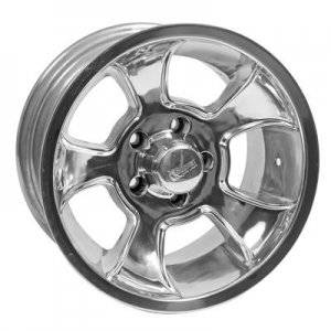 Wheels - Street / Strip - Rocket Racing Wheels - Rocket Racing Injector Polished Wheels