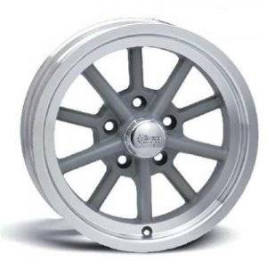 Wheels - Street / Strip - Rocket Racing Wheels - Rocket Racing Launcher Gray Wheels
