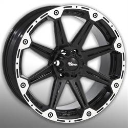 Wheels & Tires - Wheels - Street / Strip - Dick Cepek Black DC Torque Wheels