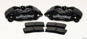 Disc Brake Calipers - Wilwood Brake Calipers - Wilwood Forged DPHA Front Brake Caliper Kits