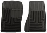 Ford Mustang (3rd Gen79-93) - Ford Mustang (3rd Gen) Interior and Accessories - Husky Liners - Husky Liners Heavy Duty Floor Mat - Black