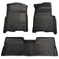 Ford F-150 - Ford F-150 Interior and Accessories - Husky Liners - Husky Liners WeatherBeater Floor Liner - Black