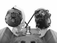 Alan Grove Components - Alan Grove Components Air Conditioning Bracket - SB Chevy - Long Water Pump - RH - High Mount - Image 2