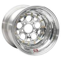 "Weld Wheels - Weld Racing Magnum Drag 2.0 Series Wheels - Weld Racing - Weld Magnum Drag 2.0 Polished Wheel - 15"" x 14"" - 5 x 4.75"" Bolt Circle 4"" Back Spacing"