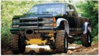 Truck & Offroad Performance - Bushwacker - Bushwacker Cut-Out Fender Flares - Front
