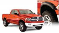 Dodge Ram 1500 Exterior Components - Dodge Ram 1500 Fender Flares and Components - Bushwacker - Bushwacker Pocket Style Fender Flares - Front / Rear
