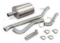 Exhaust Systems - GMC Truck / SUV Exhaust Systems - Corsa Performance - Corsa dB Cat-Back Exhaust System - Single Side Exit