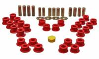 Chassis & Suspension - Suspension - Street / Strip - Energy Suspension - Energy Suspension Control Arm Bushing Set - Red