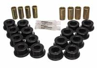 Chevrolet Corvette Suspension - Chevrolet Corvette Suspension Bushing - Energy Suspension - Energy Suspension Control Arm Bushing Set - Black