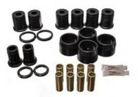Chassis & Suspension - Suspension - Street / Strip - Energy Suspension - Energy Suspension Control Arm Bushing Set - Black