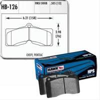 Hawk Performance - Hawk Disc Brake Pads - HPS Performance Street w/ 0.505 Thickness - Image 2