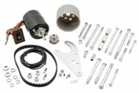 Water Pumps - Electric - Electric Water Pump Drives & Pulleys - Mr. Gasket - Mr. Gasket Electric Water Pump Drive Kit - Includes Heavy-Duty Electric Motor / Mounting Bracket / Extra Long Bolts / 10 Spline Pulleys / Drive Belt / Wiring / Switch
