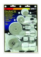 Engine Components - Engine Dress-Up Kits - Mr. Gasket - Mr. Gasket Flex-Braid Hose Sleeving Kit - Silver