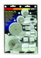 Hose & Fitting Accessories - Hose Covers - Mr. Gasket - Mr. Gasket Flex-Braid Hose Sleeving Kit - Silver