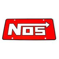 NOS - Nitrous Oxide Systems - NOS License Plate Logo - Image 2