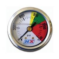 Nitrous Oxide Pressure Gauge - Mechanical Nitrous Oxide Pressure Gauges - Nitrous Express - Nitrous Express Nitrous Pressure Gauge - 0-1500 PSI