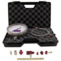 Nitrous Oxide System Components - Nitrous Oxide Pressure Gauge - Nitrous Express - Nitrous Express Master Flo-Check Pro Nitrous Pressure Gauge - Includes 6 in. Certified Gauge