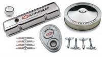 Engine Components - Engine Dress-Up Kits - Proform Performance Parts - Proform GM Engine Dress-Up Kit - Bow Tie Emblem - Chrome