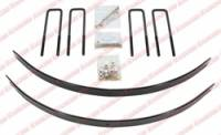 Chassis & Suspension - Rancho - Rancho Add-A-Leaf Kit - Rear - 1 in.
