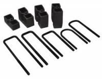 Leaf Springs Accessories - Lift Blocks - Skyjacker - Skyjacker Block and U-Bolt Kit - 3.5 in. Lift