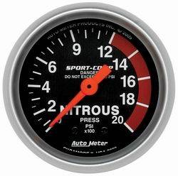 Mechanical Nitrous Oxide Pressure Gauges