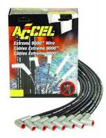 Spark Plug Wires - ACCEL Extreme 9000 Ceramic Spark Plug Wire Sets - Accel - ACCEL Extreme 9000 Ceramic Wire Set