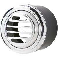 Air Conditioning & Heating - Air Conditioner Interior Vents - Billet Specialties - Billet Specialties A/C Vent - Slotted - Polished - 2.5 in. Diameter