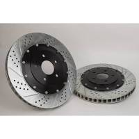 Brake System - Baer Disc Brakes - Baer 05-10 Mustang Eradispeed Plus 2 Rear Brake Kit