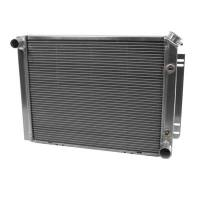 Cooling & Heating - Be Cool - Be Cool 67-68 GM SB Chevy Car Radiatr w/ Transmission Cooler