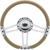 "Billet Specialties - Billet Specialties 14"" Dra Ft. Steering Wheel Half Wrap"