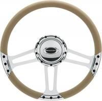 """Billet Specialties Steering Wheels - Billet Specialties Select Edition Steering Wheels - Billet Specialties - Billet Specialties 14"""" Dra Ft. Steering Wheel Half Wrap"""
