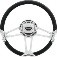 "Billet Specialties - Billet Specialties 14"" Monaco Steering Wheel Half Wrap"