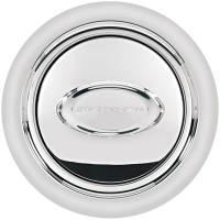 Billet Specialties Steering Wheels - Billet Specialties Select Edition Steering Wheels - Billet Specialties - Billet Specialties Horn Button Smooth Polished Logo