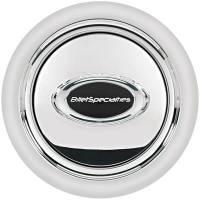 Billet Specialties Steering Wheels - Billet Specialties Select Edition Steering Wheels - Billet Specialties - Billet Specialties Horn Button Smooth Black Logo
