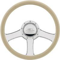 "Billet Specialties Steering Wheels - Billet Specialties Steering Wheel Half-Wrap Rings - Billet Specialties - Billet Specialties 14"" Anthem Steering Wheel Half Wrap"