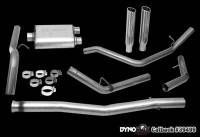 Chevrolet 2500/3500 Exhaust - Chevrolet 2500/3500 Exhaust Systems And Components - DynoMax Performance Exhaust - Dynomax Stainess Steel Cat Back Exhaust 09-11 GM Pickup 4.8/5.3L