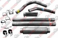 Exhaust Systems - Dodge Truck / SUV Exhaust Systems - DynoMax Performance Exhaust - DynoMax Stainless Steel Turbo-Back Exhaust System - 4 in. Single