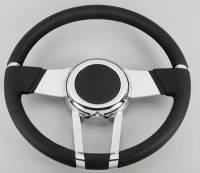 Street Performance / Tuner Steering Wheels - Flaming River Steering Wheels - Flaming River - Flaming River WaterFall Steering Wheel Black