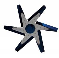 "Belt Driven Fans - Flex Fans - Derale Performance - Derale 17"" Blue Anodized Fan"