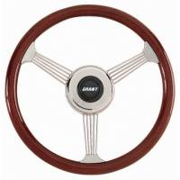 "Street Performance / Tuner Steering Wheels - Grant Banjo Style Steering Wheels - Grant Steering Wheels - Grant Banjo Style Steering Wheel - 14 3/4"" - Mahogany"