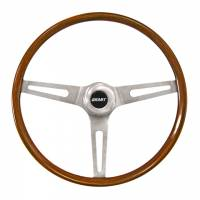 "Street Performance / Tuner Steering Wheels - Grant Classic Steering Wheels - Grant Steering Wheels - Grant Classic GM Steering Wheel - 14 1/2"" - Walnut"