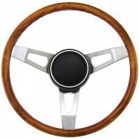 """Street Performance / Tuner Steering Wheels - Grant Classic Steering Wheels - Grant Steering Wheels - Grant Classic Nostalgia Steering Wheel - 15"""" - Walnut"""