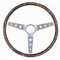 "Street Performance / Tuner Steering Wheels - Grant Classic Steering Wheels - Grant Steering Wheels - Grant Classic Nostalgia Steering Wheel - 13 1/2"" - Walnut"