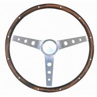 "Street Performance / Tuner Steering Wheels - Grant Classic Steering Wheels - Grant Steering Wheels - Grant Classic Nostalgia Steering Wheel - 15"" - Walnut"